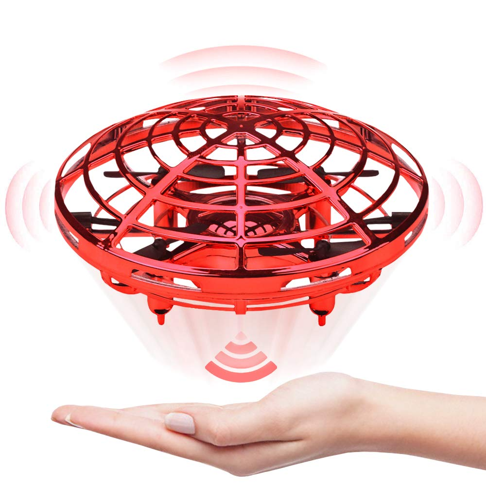 Jasonwell Hand Operated Drone for Kids Toddlers Adults - Hands Free Mini Drones for Kids Flying Toys Gifts for Boys and Girls Hand Drone 6 7 8 9 10 Years Old Kids Kids Self Flying Drone