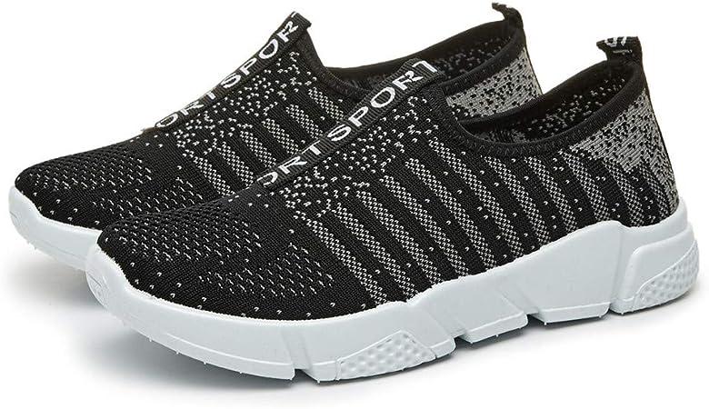 JLCP Womens Zapatos de Caminar atléticos, Casual Mesh Zapatillas Deportivas Zapatos de Running de Calzado Ligero Antideslizante de Gimnasio Viajes Deportes al Aire Libre,1,40: Amazon.es: Hogar