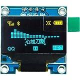 "HiLetgo 0.96"" I2C IIC SPI Serial 128X64 OLED LCD Display 4 Pin Font Color Yellow&Blue"