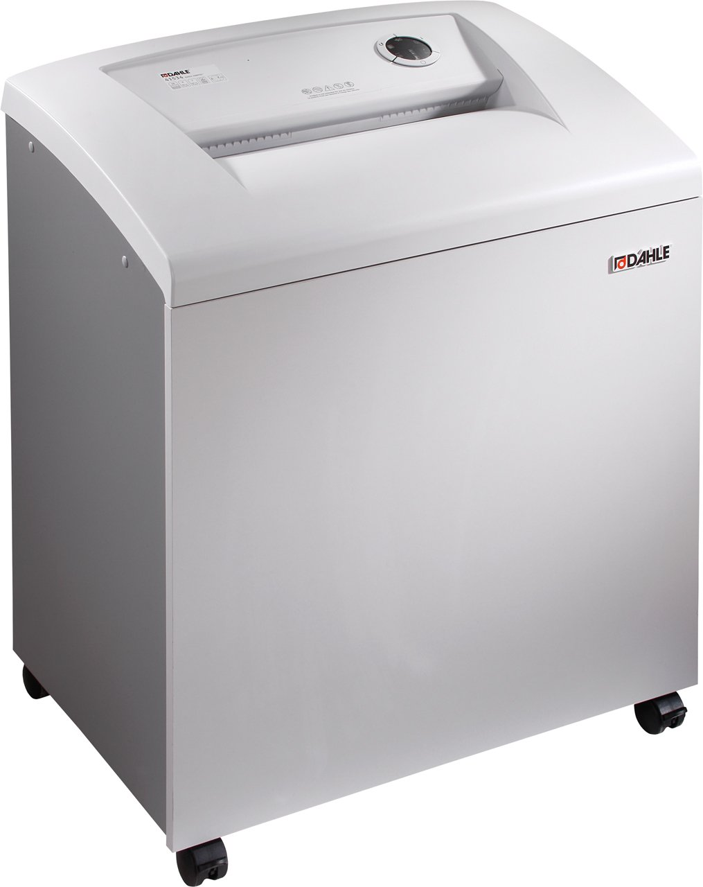 Dahle 40506 Small Department Shredder, 31-36 Sheet, Strip Cut, Shreds CDs, Staples, Paper Clips, Credit Cards, Security Level P-2
