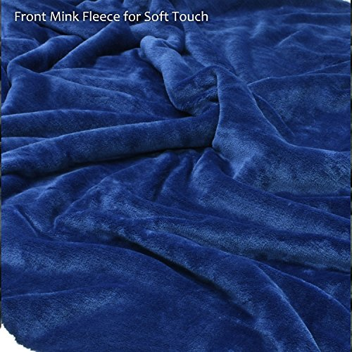 "Large Dog Blanket,Super Soft Warm Sherpa Fleece Plush Dog Blankets and Throws for Large Medium Dogs Puppy Doggy Pet Cats,60""X50"""