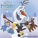 Olaf s Frozen Adventure Wall Calendar (2019)
