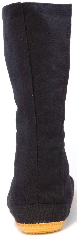 Ninja Shoes, Jikatabi, Rikkio Tabi Boots(US 5~12) Black / White!! +Travel bag (US 12 (30cm), Black) by Tabi Shoes (Image #5)