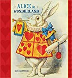 2017 Alice in Wonderland Wall Calendar