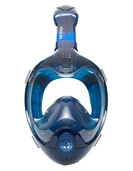 Amazon.com : H2O Ninja X Easy Breath Full Face Snorkel Mask ...