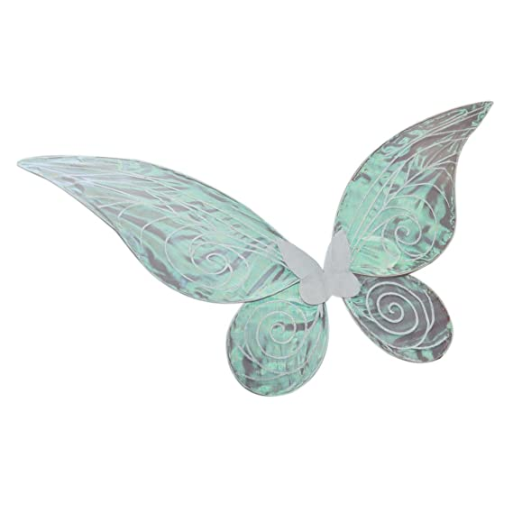Novelty Sparkling Color Changing Butterfly Angel Fairy Wing Adult Kid Party Toy