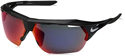 22a7c1a8a171 Nike EV1029-016 Hyper Force M Frame Green with Ml Infrared Lens Sunglasses,  Matte