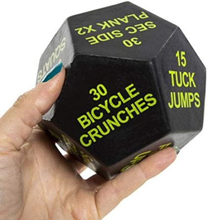 Series 8 Fitness Exercise Dice 2nd Edition