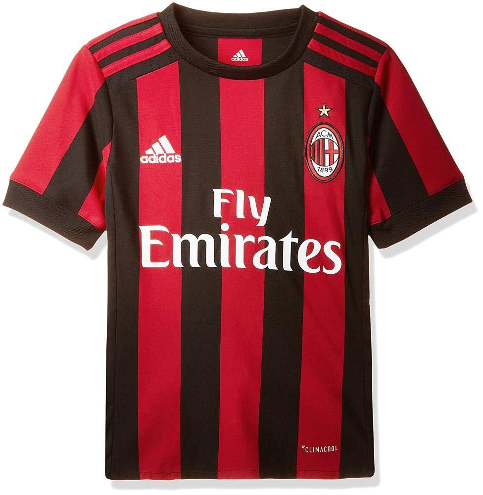 Adidas Ac Mailand Heimtrikot Replica Kinder B01N0UIW0V Jungen Hochwertige Materialien Materialien Materialien d0901b