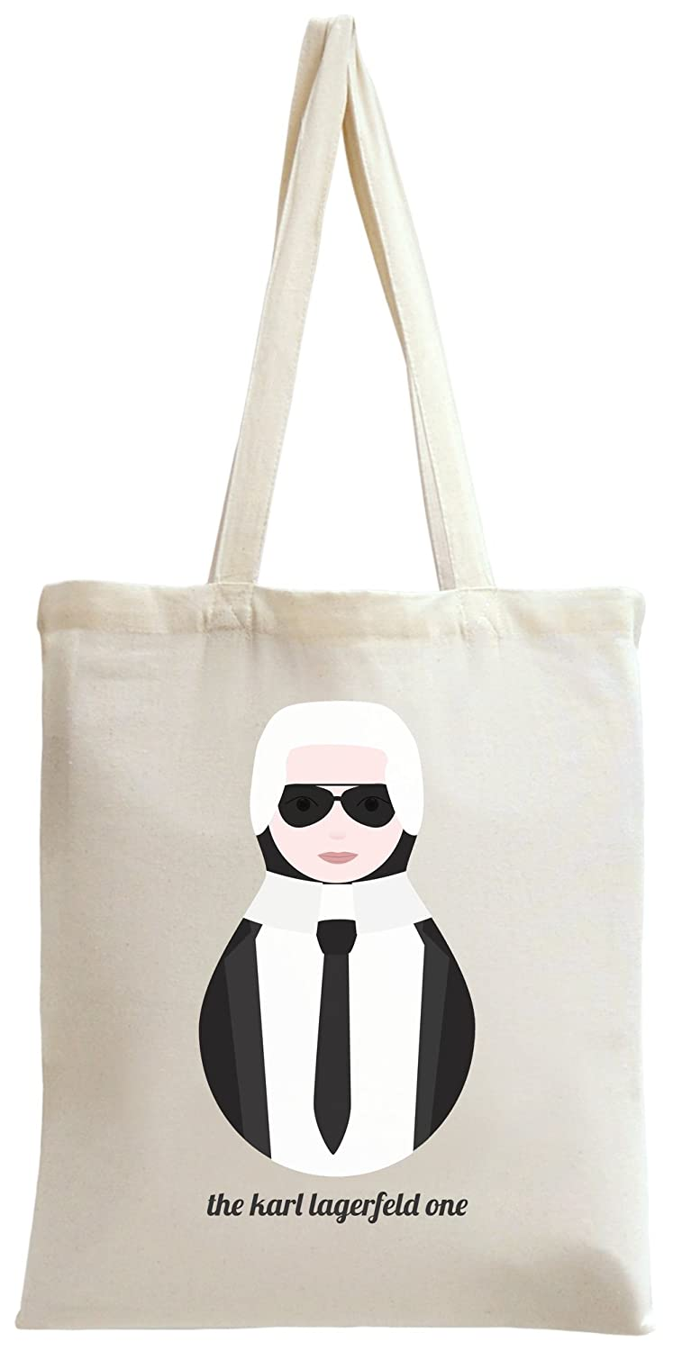 Karl Lagerfeld Russian Doll Tote Bag -Tote1-OffWht-ABWO