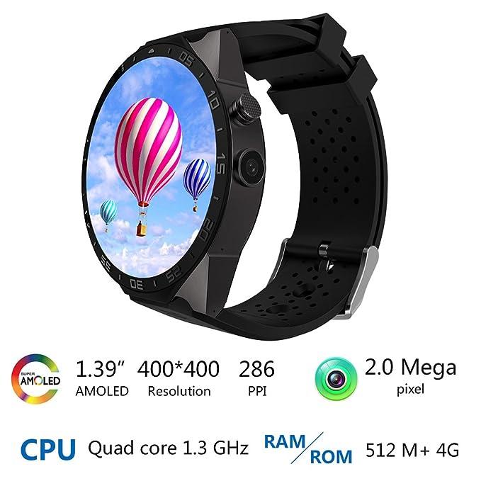 Amazon.com: Bluetooth GPS Camera Smart Watch 1.39