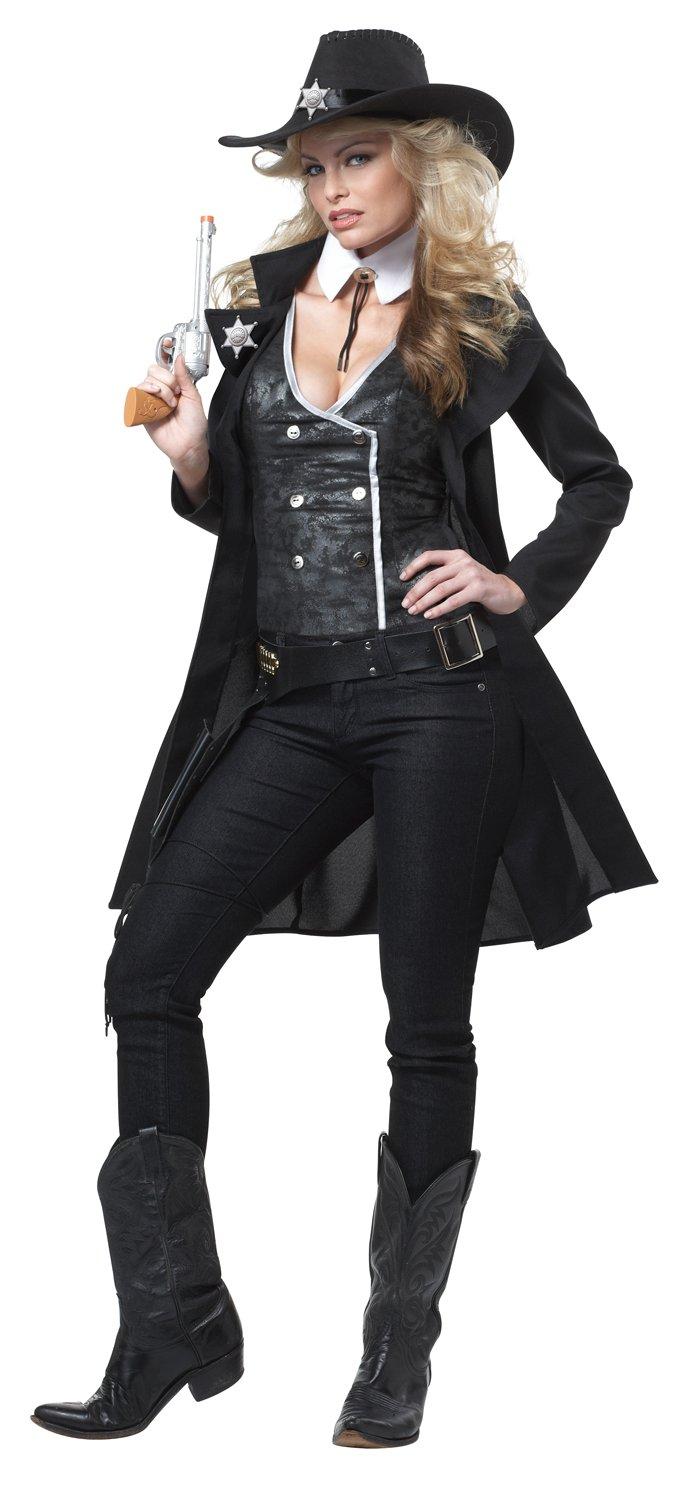 Generique - Sheriff-Kostüm für Damen XL