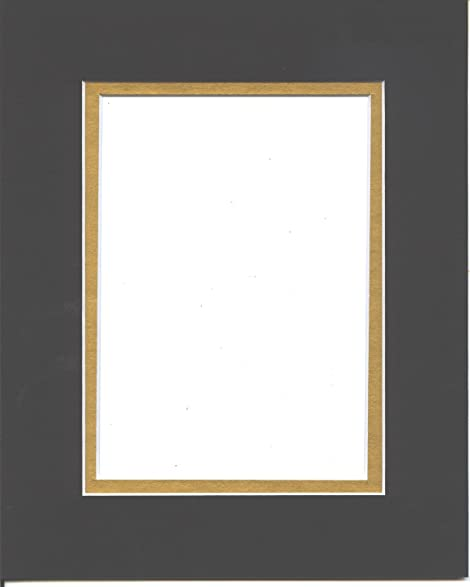 Amazoncom 22x28 Black Gold Double Picture Mats or Photography