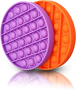 2 Pack Autism Special Needs Stress Reliever Silicone Stress Reliever Toy