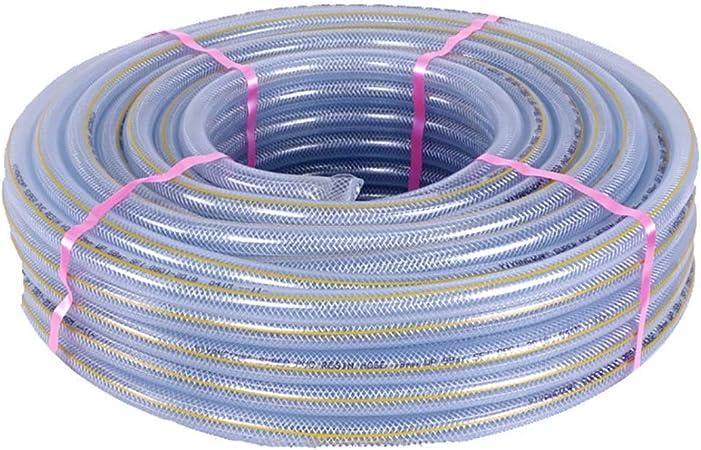 GONGFF Manguera de jardín PVC Transparente Tubo de Agua a Prueba de explosiones de Alta presión (Color: 25 mm, Tamaño: 50 m (164 pies)): Amazon.es: Hogar