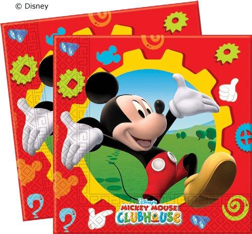 20 Servilletas * Mickey Mouse * para fiestas y cumpleaños ...