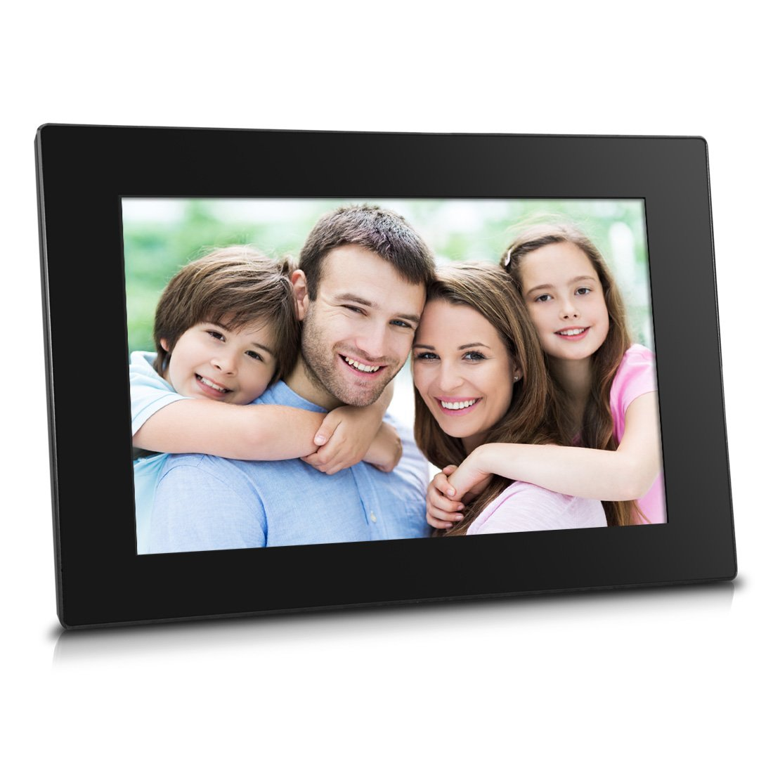 Sungale CPF1051 - 10 inch WiFi Cloud Digital Photo Frame with Touch Panel, 8GB Internal Memory & Free Cloud Storage, High-Resolution 1280x800 IPS Screen (Black) by Sungale