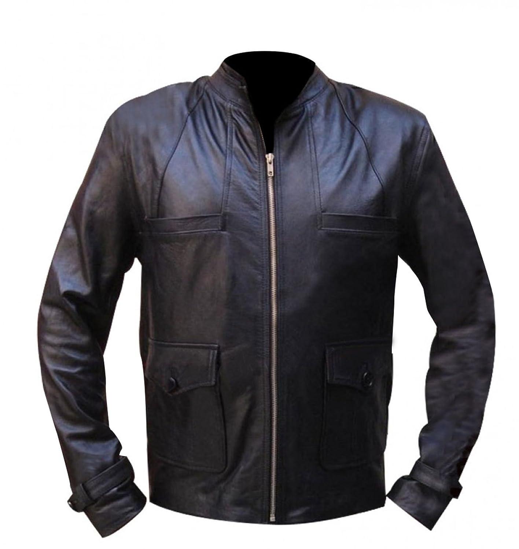 Grimm Nick Burkhardt (David Giuntoli) Black Leather Jacket