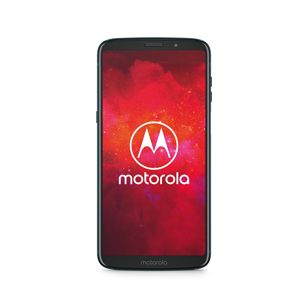 Motorola Mobility pabh0016de Moto Z3 Play Smartphone (6 Pulgadas) + Moto Power Pack + Moto Style Shell – Black Leather, 4 GB RAM/64 GB, Android Deep Indigo
