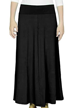 Kosher Casual Women's Modest Long Flowing Maxi Skirt at Amazon ...