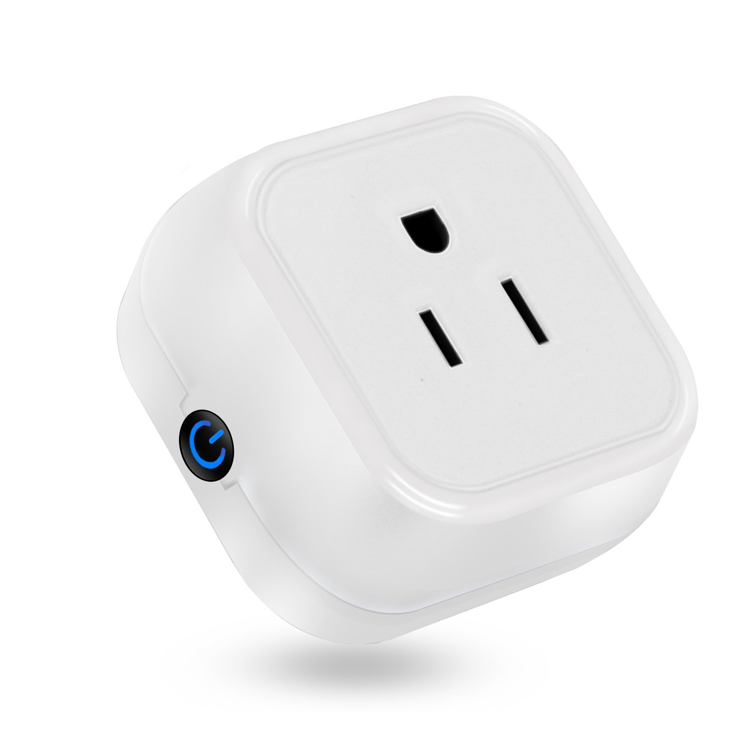 Martin Jerry Mini Wifi Smart Plugs Compatible with Alexa, Google Home, Smart Home Devices to Control Home Appliance from Anywhere, no Hub Required, Wifi Smart Socket (V05) (1 Pack)