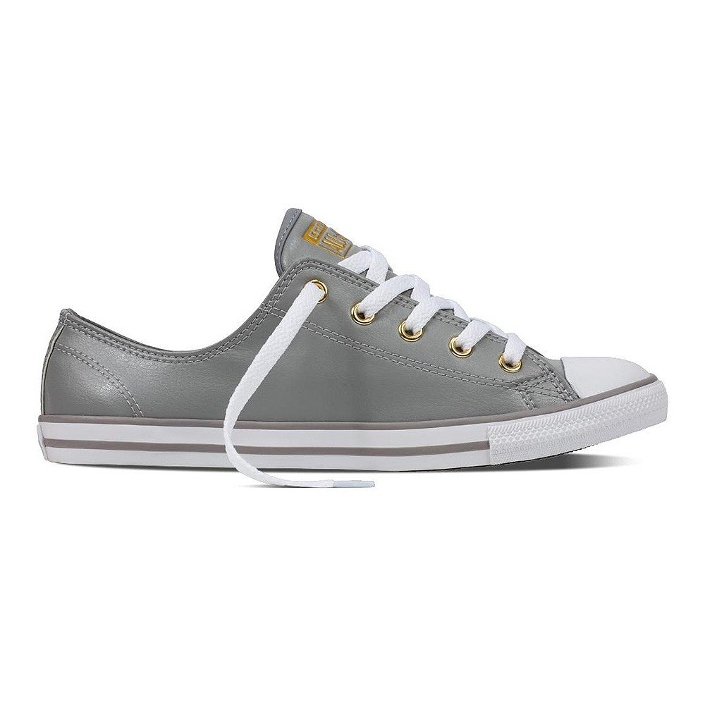05ecac4aff48 Converse Chuck Taylor All Star Damen Sneaker Dainty Low Ox Dolphin  Gold  (grey)