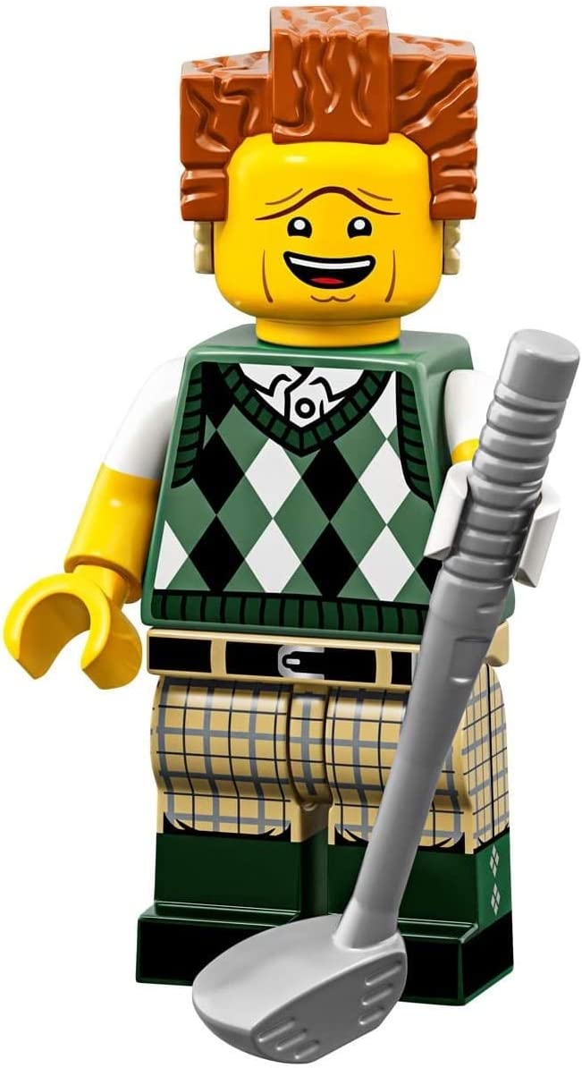 The LEGO Movie 2 Collectible MiniFigure - Gone Golfin' President Business (Sealed Pack)