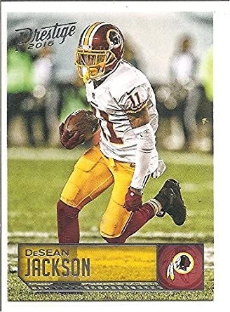 DeSean Jackson Washington Redskins 2016 Panini Prestige Football Card  198 67fd745bf