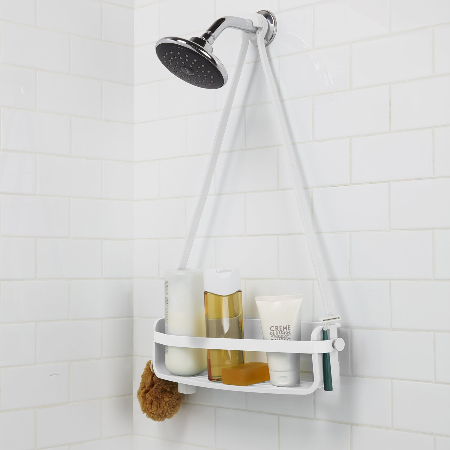 Amazon.com: Umbra Flex Single Shower Caddy, White: Home & Kitchen