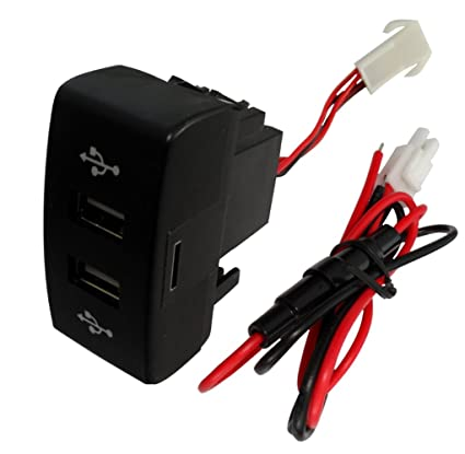 AERZETIX: Enchufe modulo doble USB 5V cargador para salpicadero ...