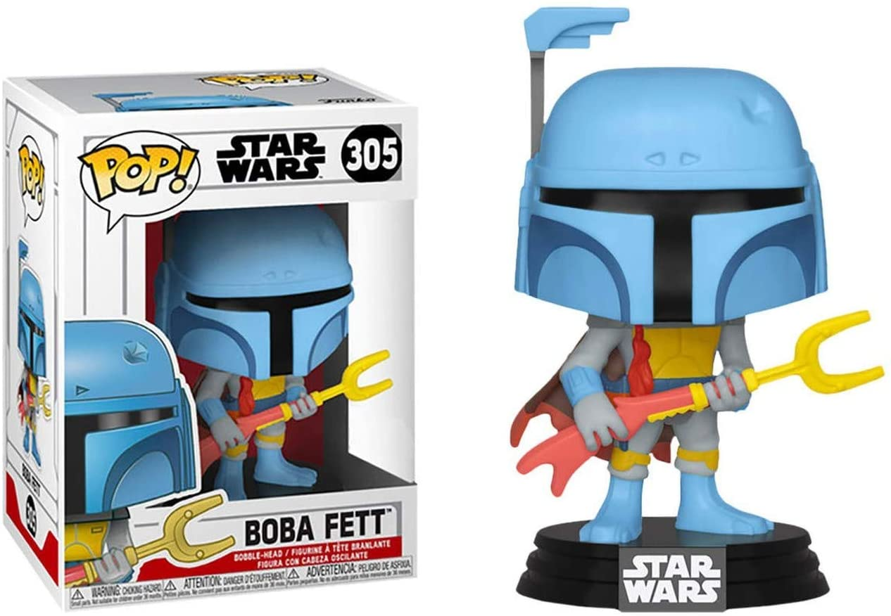 Funko Pop Disney: Star Wars - Boba Fett (Animated) Exclusive
