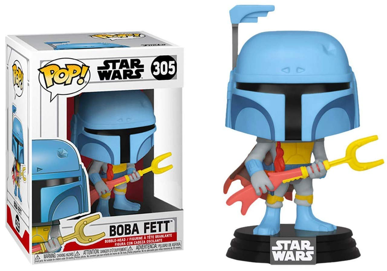 FUTURA Red BOBA FETT #297 Wondercon Funko Pop Shared Exclusive Star Wars