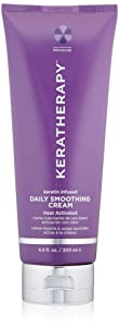 KERATHERAPY Keratin Infused Daily Smoothing Cream, 6.8 Fl Oz