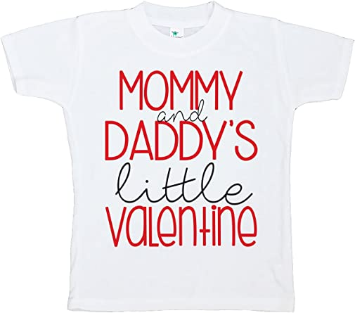 Custom Party Shop Girls Little Sister Happy Valentines Day Red Raglan