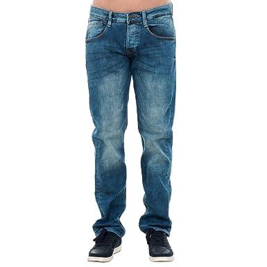 Jeans Guess Hombre EU33/L32 Azul M72AS3D2CT5-WWAR: Amazon.es ...