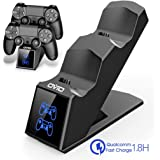 PS4 Controller Charger Station, OIVO DualShock 4 Charging Station Dock with LED Indicator for Sony Playstation 4/PS4 Slim/PS4 Pro Controller
