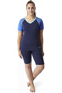 0e20bd923cb0d Bohn Swimwear Ladies Carrie Boyleg Swim Shorts: Amazon.co.uk: Clothing