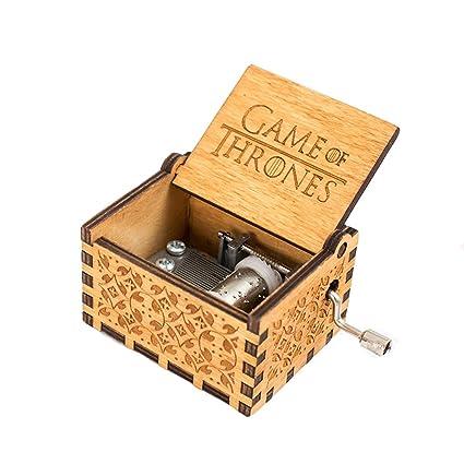 Meiion Pure Hand Classic Star Wars yGame of Thrones Classic DIY Cajas de música, cajas