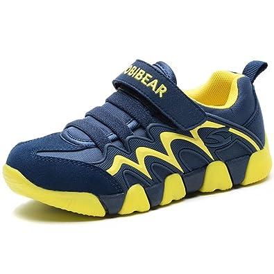 Kaufen billig für Rabatt zarte Farben GUBARUN Kinder Turnschuhe Jungen Sneaker Mädchen Hallenschuhe Outdoor  Sports Laufschuhe für Herbst Winter
