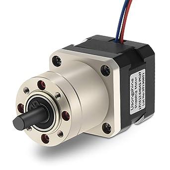 Usongshine 27:1 Planetary Gearbox Nema 17 Stepper Motor DIY CNC ...