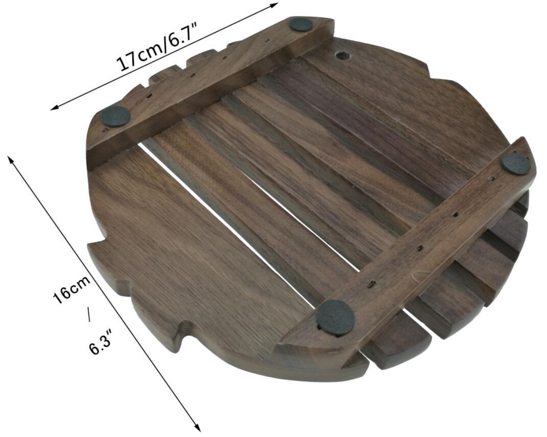 Beechwood Winterworm Cute Fish Shape Heat Proof Heat Protective Heat Insulated Heat Resistant Non-Slip Insulation Table Mat Potholder Pot Pad Coaster Tableware