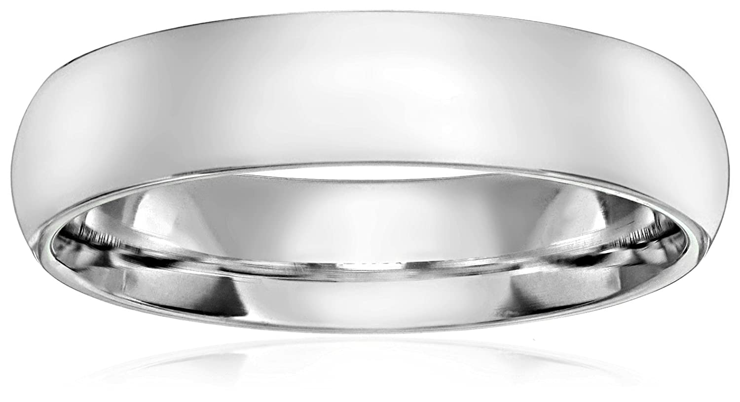 Standard Comfort Fit 14K Gold Wedding Band, 6mm | Amazon.com