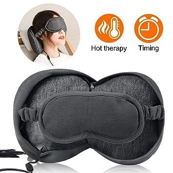 Amazon.com: Masajeador de ojos con vapor con calefacción por ...