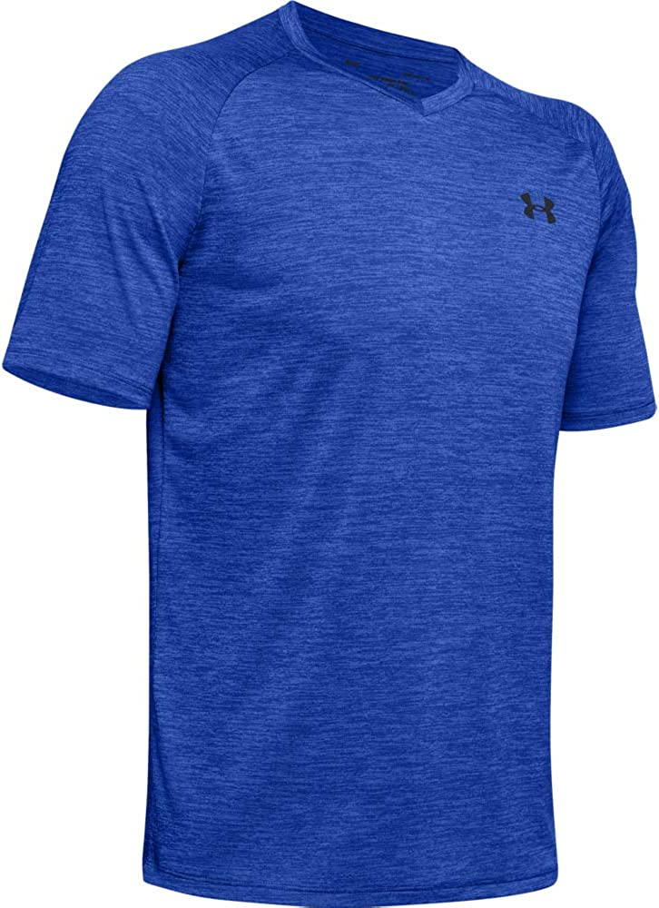 Details about  /Under Armour Men/'s Tech 2.0 V-Neck Short Sleeve T-Shirt
