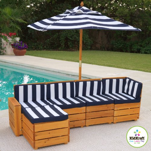 Outdoor Patio Furniture Sale Amazon: KidKraft Sectional Outdoor Furniture