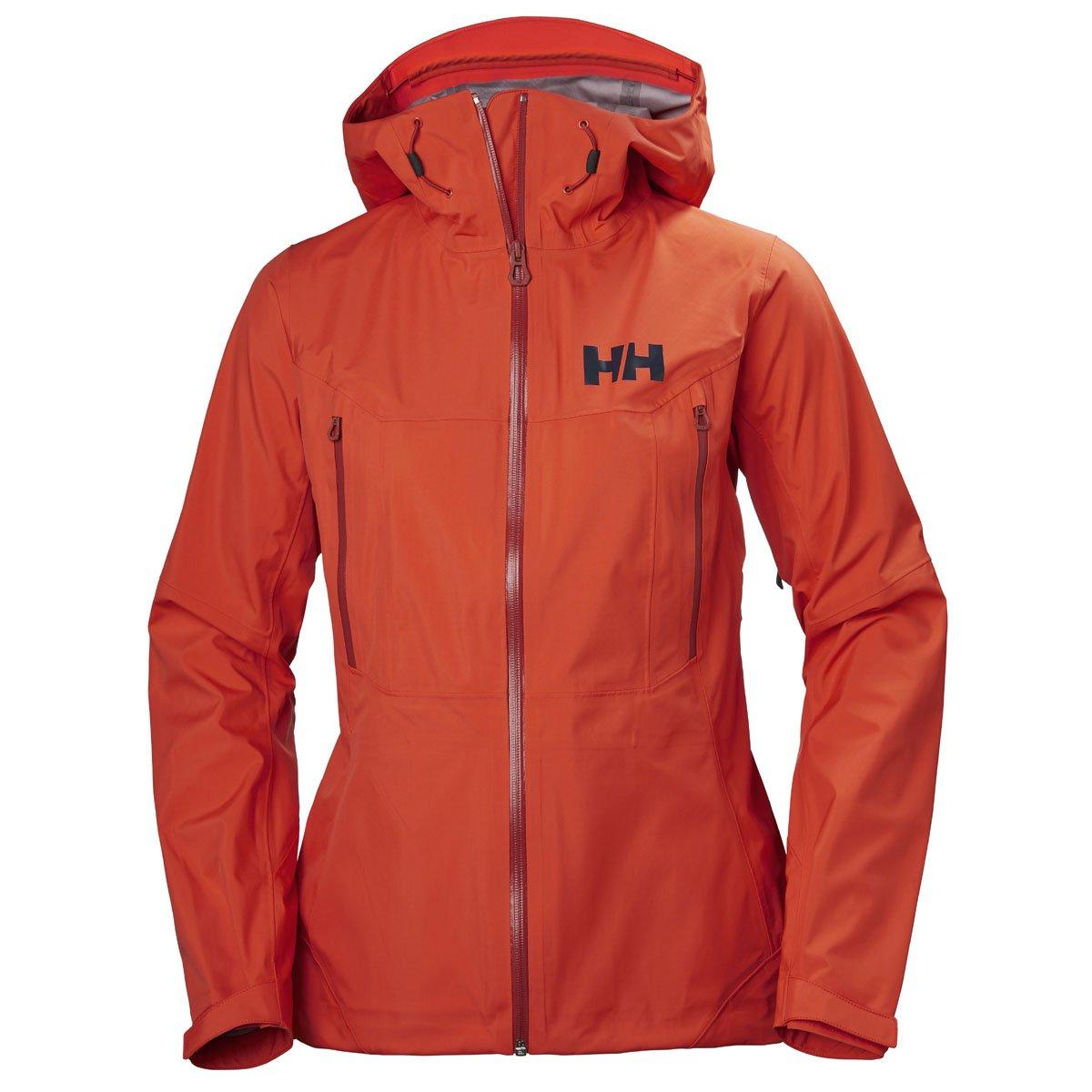 Helly Hansen 2018レディースVerglas 3lシェルジャケット – 62835 B079W5SCLW Large|ざくろ色 ざくろ色 Large
