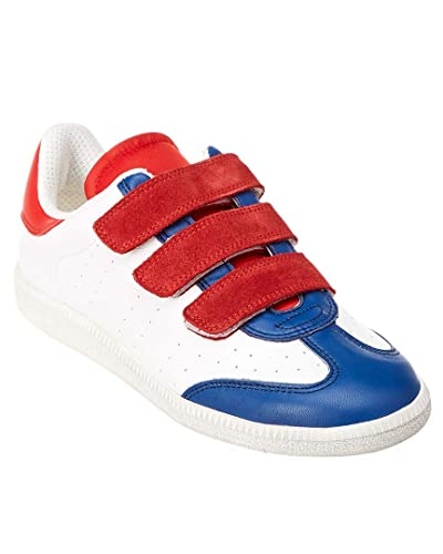 30d66685fa Image Unavailable. Image not available for. Color: Isabel Marant Beth Color  Block Leather & Suede Low Top Sneaker ...