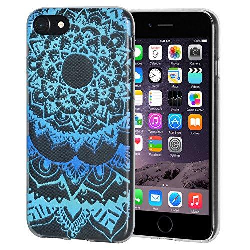 """Amzer Coque en gel souple transparent """"Océan Mandala en TPU pour Apple iPhone 6/6S"""