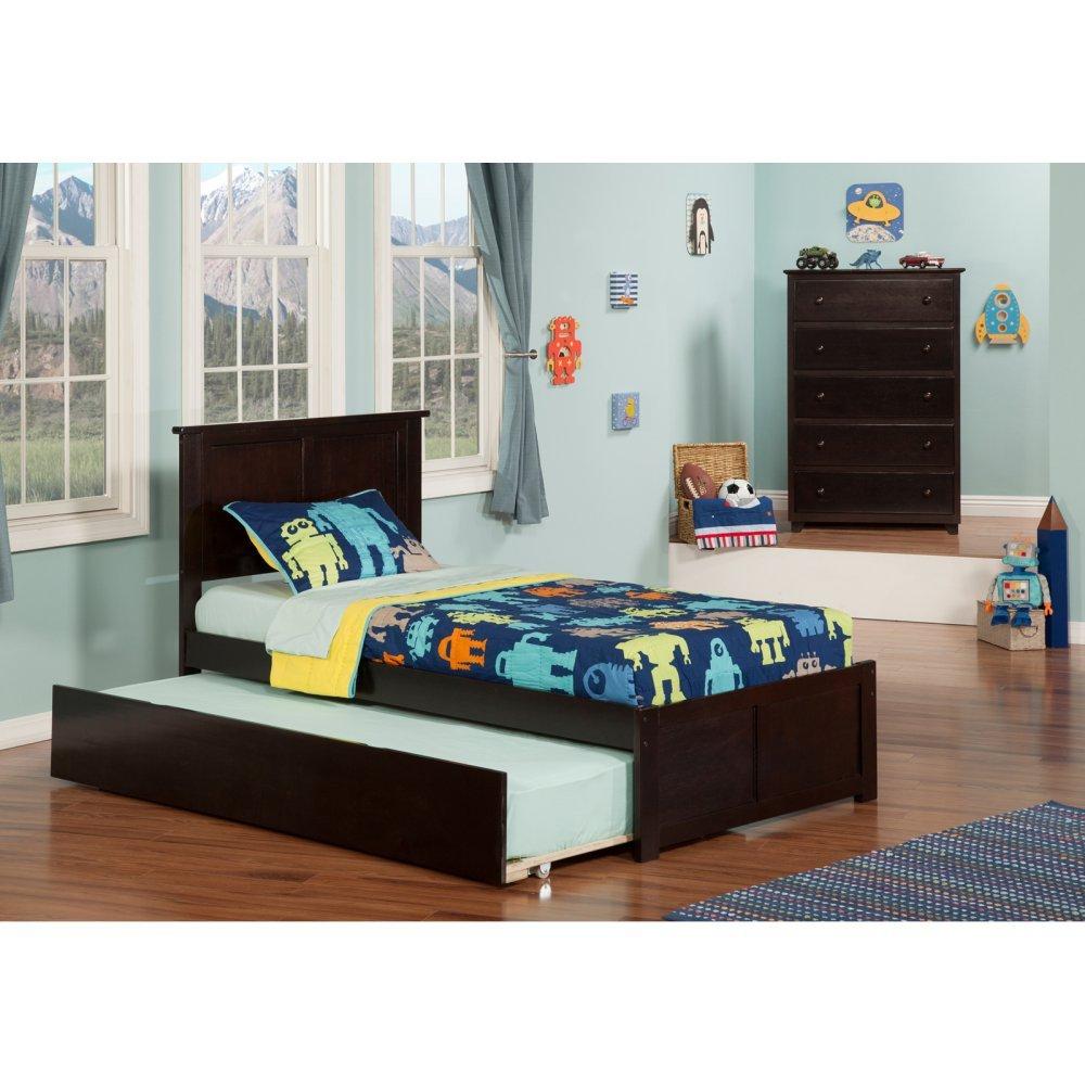 Atlantic Furniture Madison Bed Set Full UTD Chest by Atlantic Furniture