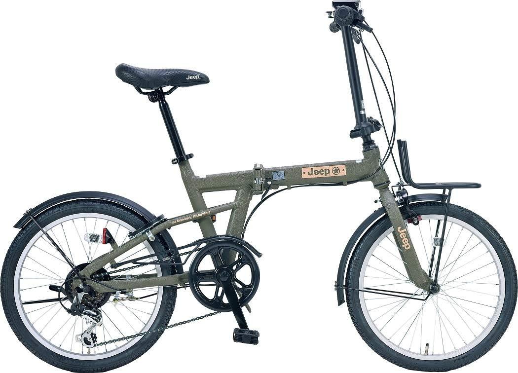 JEEP 折りたたみ自転車 JE-206G